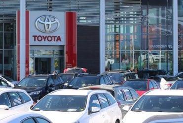 Wyprzedaż Toyota 2017