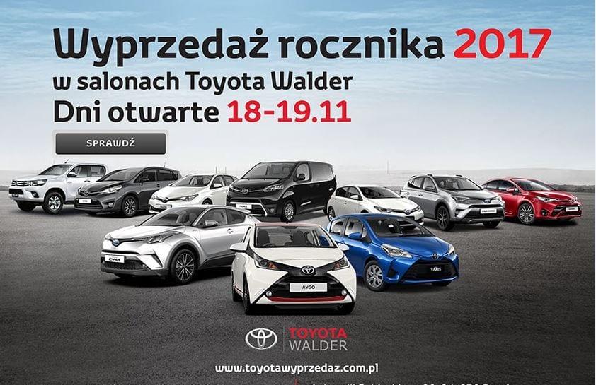 Wielka wyprzedaż Toyoty