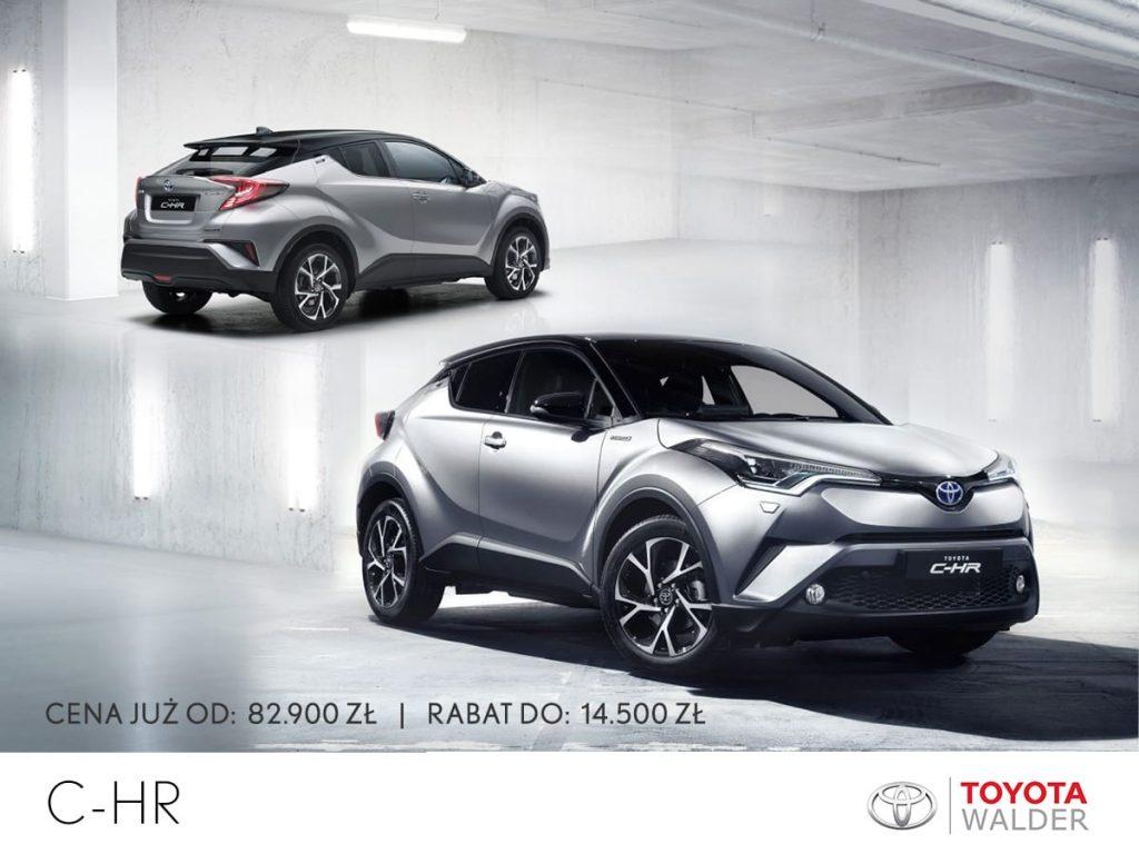 Wyprzedaż w salonach Toyota Walder