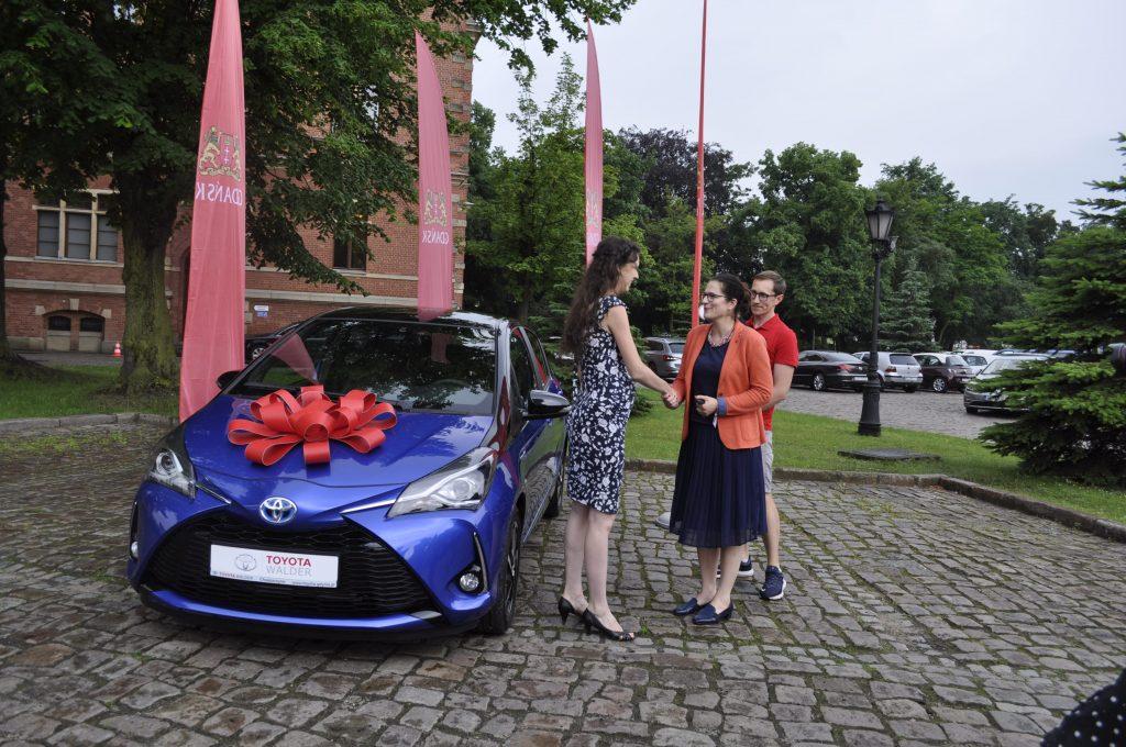 Toyota w Gdańsku - dostarczona przez grupę Walder